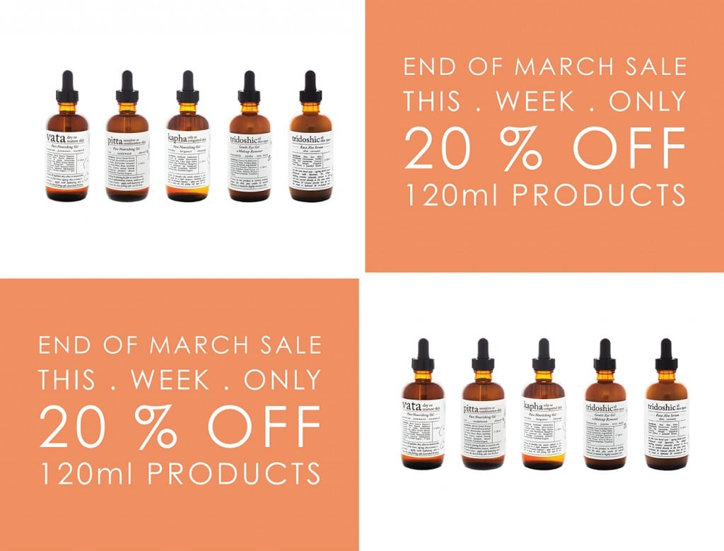 END OF MARCH SALE LANDING